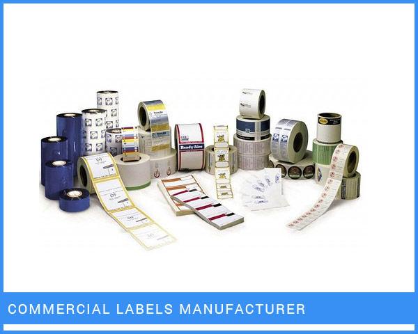 Commercial Labels Manufacturer