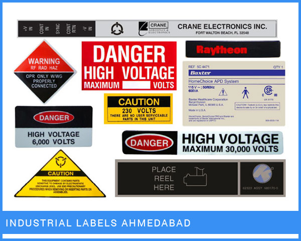 Industrial Labels Ahmedabad