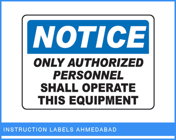 Industrial Nameplates Manufacturer