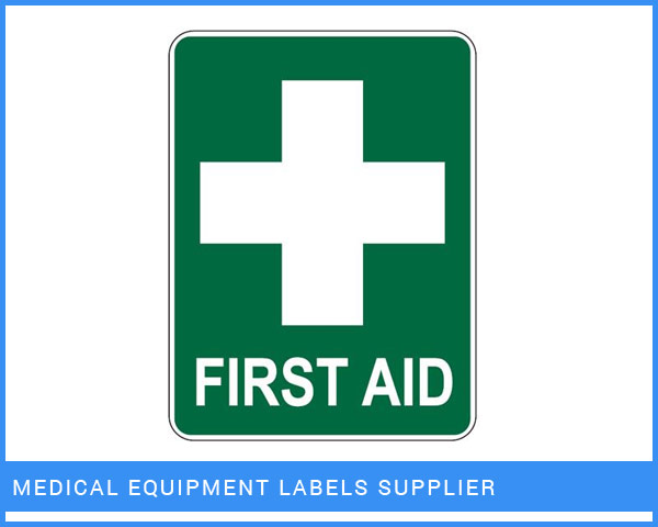 Medical Equipment Labels Manufacturer