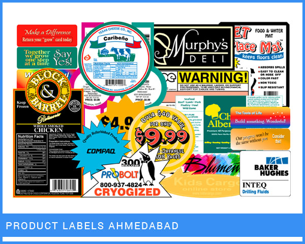 Product Labels Ahmedabad