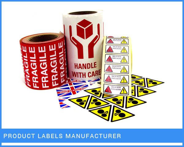 Product Labels Manufacturer